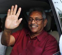 Former Sri Lankan defense chief wins presidential vote