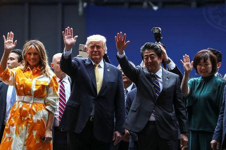 Trump expects Japan's military to reinforce United States in Asia