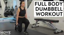 Full body dumbbell home workout | Move At Home