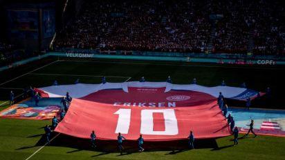 """Inter celebra el regreso a casa de Eriksen: """"Nunca paramos de pensar en ti"""""""