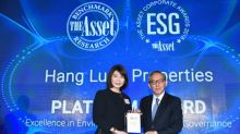 Hang Lung Wins Second Platinum Award at The Asset Corporate Awards
