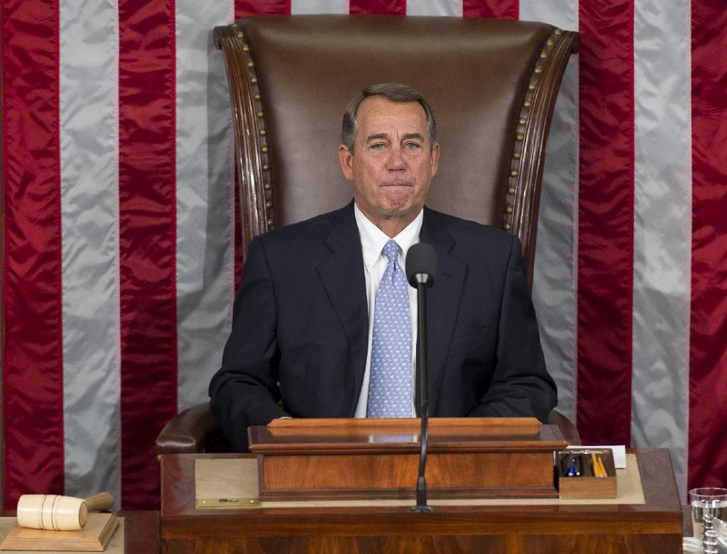 Former Speaker John Boehner laid into fellow Republican and 2016 presidential hopeful Ted Cruz, labeling him the devil incarnate (AFP Photo/Saul Loeb)