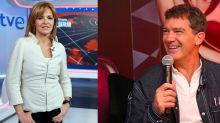 Almudena Ariza y Antonio Banderas se enzarzan en Twitter por los abusos de Harvey Weinstein
