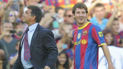 El último once del FC Barcelona en la primera etapa de Joan Laporta como presidente