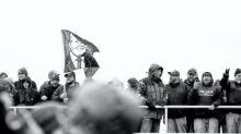 Se tornan violentas las protestas de simpatizantes de Trump: hay heridos y detenidos
