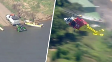 One man drowns, another missing after jetski fall