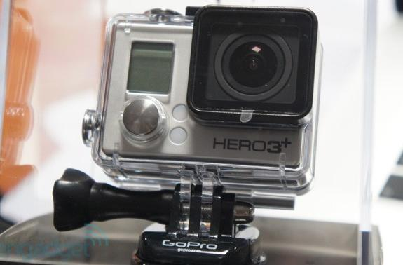 GoPro reveals Hero3+: smaller, sharper, faster and available now