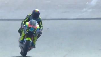 Navarro segura Pasini por 0s001 e ponteia 3º treino da Moto2 em Silverstone