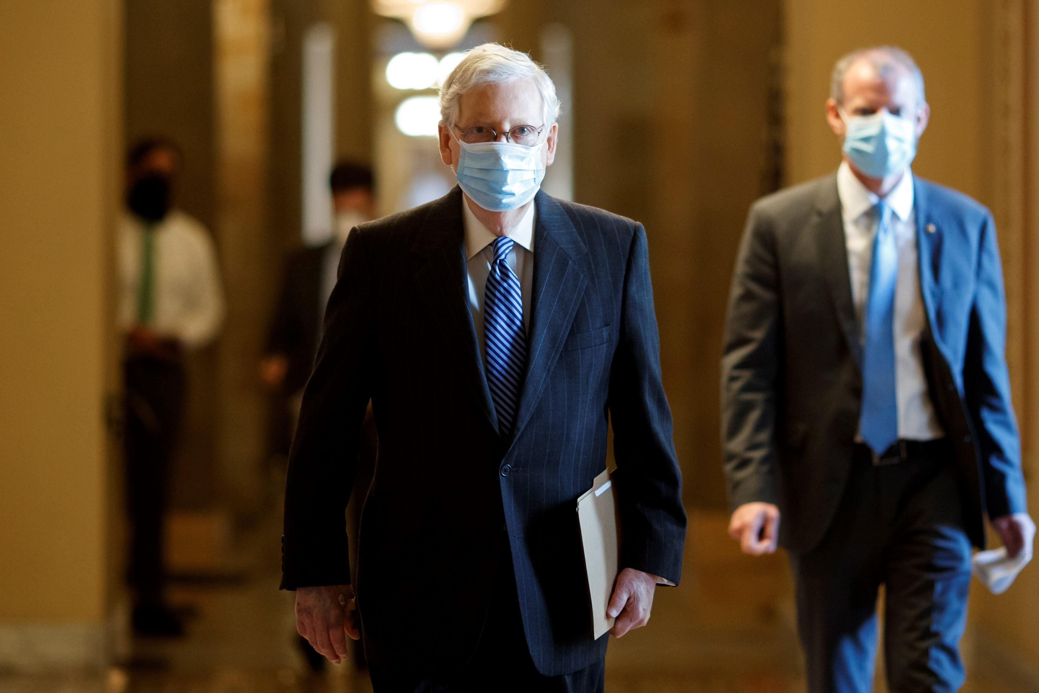 Senate Democrats block slimmed-down GOP coronavirus bill