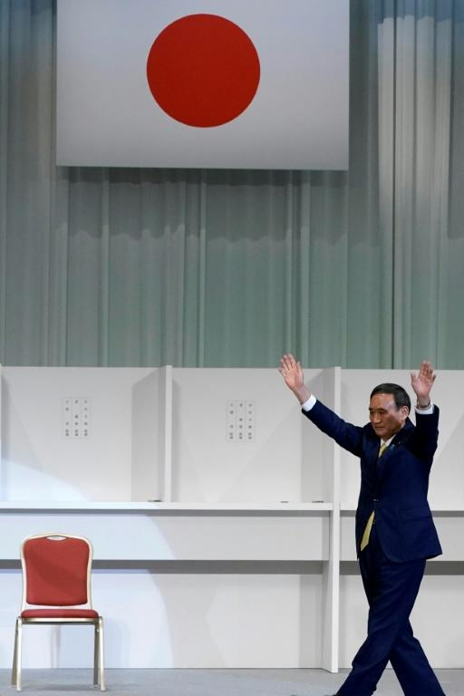 Suga quickly became the frontrunner in the race to succeed Abe as ruling party leader, and by extension the country's prime minister