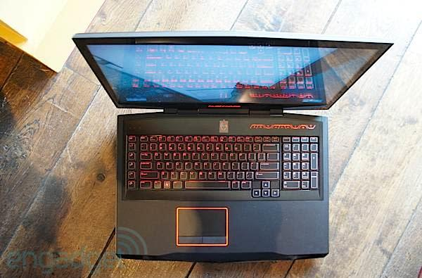 Alienware refreshes M14x, M17x and M18x with new graphics, same old processors