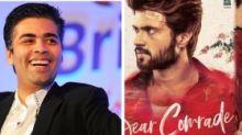 Karan Johar to Remake Vijay Deverakonda's 'Dear Comrade'