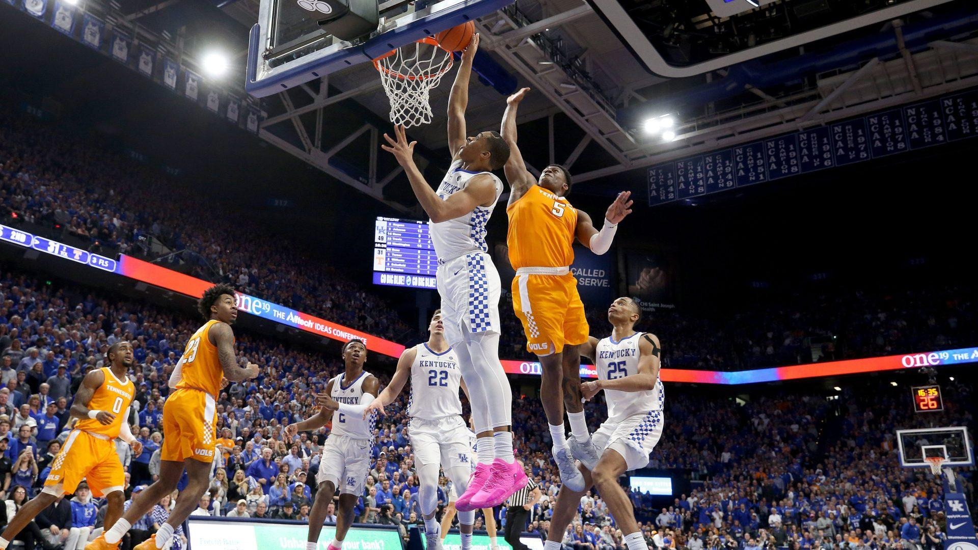 NBC Sports Top 25: Kentucky beats Tennessee as injuries abound