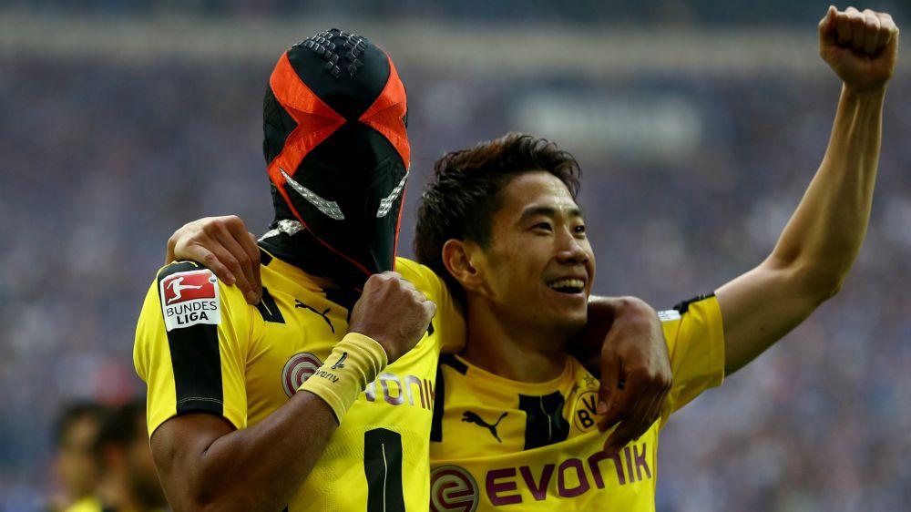Bericht: Satte Strafe für BVB-Star Aubameyang nach Masken-Jubel