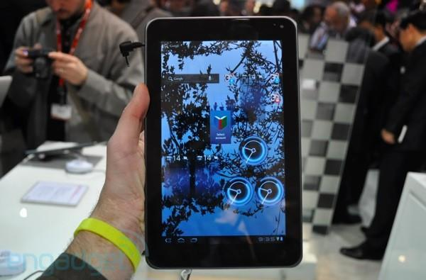 LG Optimus Pad first hands-on! (video)