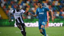 Juventus perde de virada para Udinese e deixa escapar primeira oportunidade de ser campeã