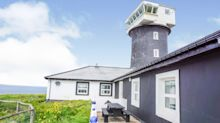House with a view: Former lighthouse with eight bedrooms and swimming pool goes on sale for £1m