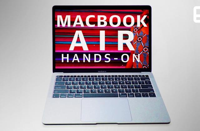 Hands-on with the new MacBook Air: The one you've been waiting for