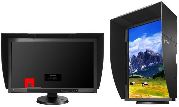 Eizo's 27-inch ColorEdge CG275W has a 2560 x 1440 IPS panel, which will calibrate itself