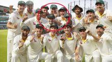 Stunning secret hidden in photo of Australia's Ashes success