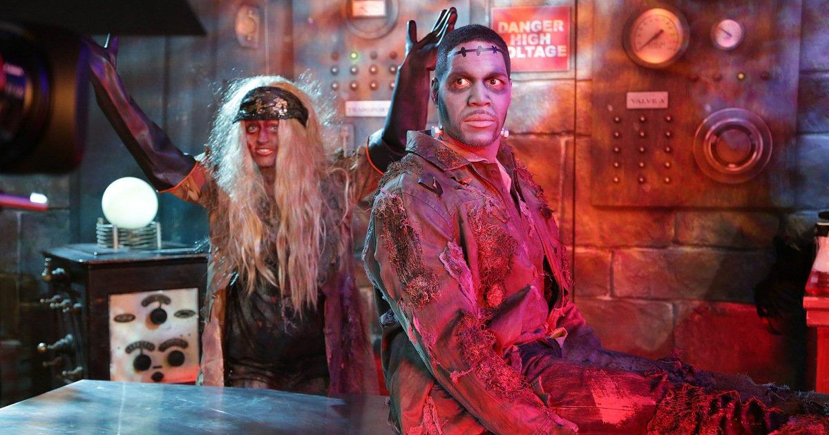Gma Sara Haines Halloween Costume 2020 Watch GMA's Michael Strahan, Sara Haines and Keke Palmer's Spooky
