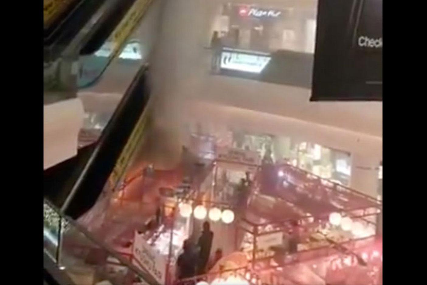 Fire breaks out at Tampines Mall food fair