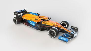 McLaren車隊率先推出2021年新賽車MCL35M