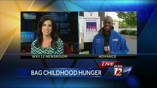 Busta Brown in Advance to Bag Childhood Hunger