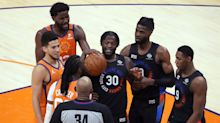 Phoenix Suns: Look back at chippy win over Knicks, ahead to showdown with LeBron James-less Lakers