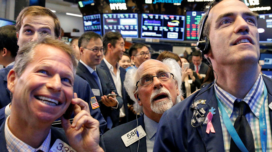 Record highs for stocks