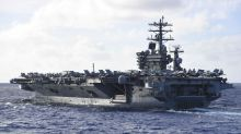 US and Chinese naval exercises overlap in South China Sea