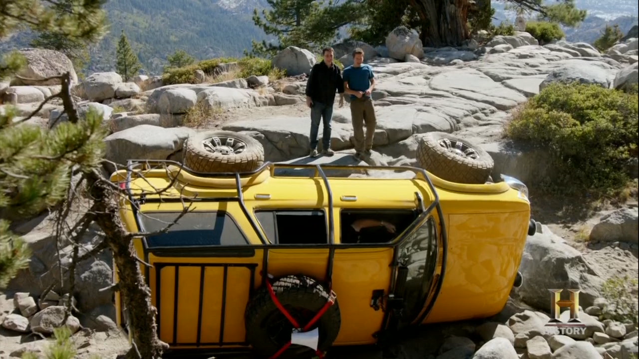 Xterras On The Rubicon Trail Second Generation Nissan