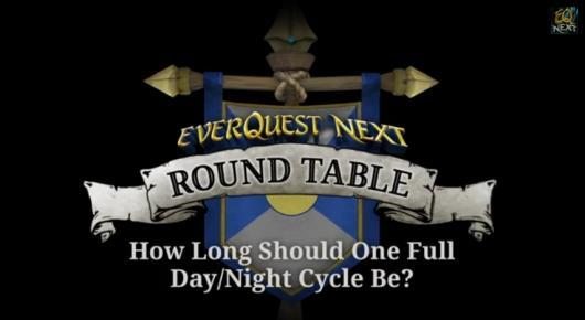 EverQuest Next will feature a longer day/night cycle