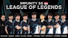 Impunity Esports unveil Singaporean League of Legends lineup for 2021 PCS