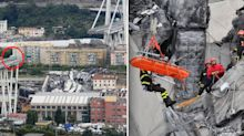 Voices heard under rubble of Italy bridge collapse as death toll rises