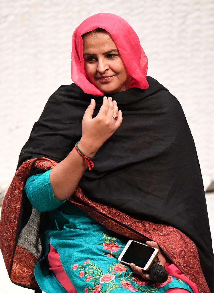 Pakistani human rights activist Mukhtar Mai says she holds little hope that the legal system in her country would ever render her justice (AFP Photo/Robyn Beck)