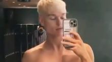 Jack Vidgen, 24, goes shirtless to flaunt gym transformation