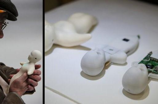 Elfoid is the human-shaped phone from Japan that tickles when it rings (video)