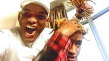 Will Smith Helps Son Jaden Chop Off His Dreadlocks For New Movie Role -- See the Pic!