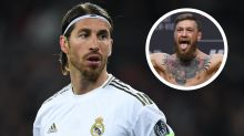 Ramos invites McGregor to Real Madrid training after UFC star shows off football skills