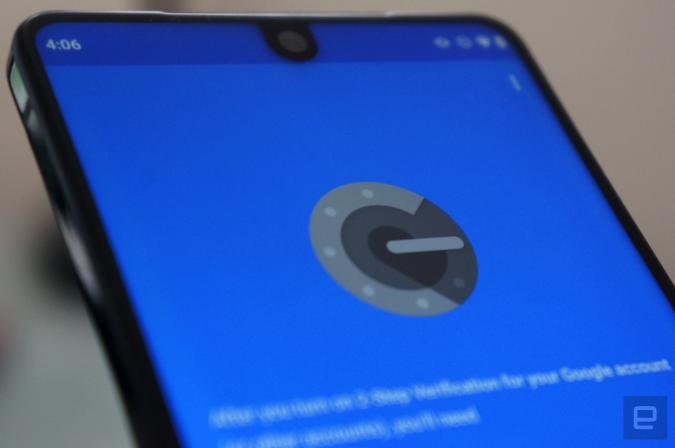 Google Authenticator on Android