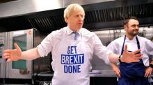 Boris Johnson says voters can have Brexit 'decided' by Christmas with a Tory majority