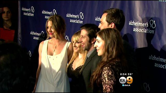 Big Bang Theory Cast Honored By Alzheimer's Association