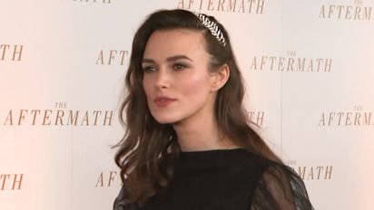 Keira Knightley pays tribute to Karl Lagerfeld