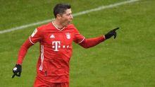 Lewandowski claims Bundesliga record, Jovic hits double on return from Real Madrid