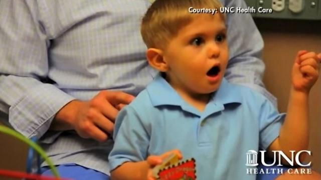 Boy, 3, Hears for the First Time