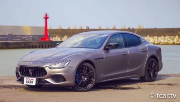[新車試駕] 魅力依舊的帶電海神 Maserati Ghibli GranSport MHEV