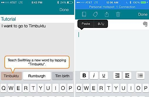 SwiftKey's new iOS note-taking app syncs with Evernote