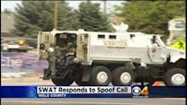 SWAT Officers Respond To Spoof Call In Greeley