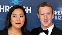 Priscilla Chan said she's proud of how Mark Zuckerberg has handled backlash over Facebook's policing of misinformation and conspiracy theories like QAnon